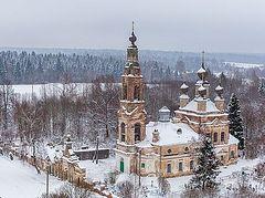 Η Χειμωνιάτικη Ρωσία από ψηλά