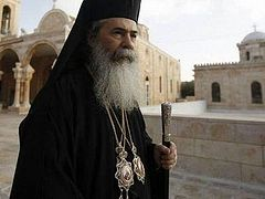 Patriarch of Jerusalem invites primates to Jordan to discuss Church unity