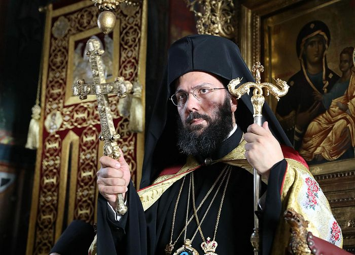 Metropolitan Arsenios of Austria. Photo: romfea.gr
