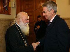 Архиепископ Иероним после встречи с послом США: Если кто-то из Предстоятелей позовет нас, я скажу «нет»