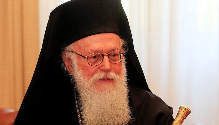 Предстоятель Албанской Православной Церкви Блаженнейший архиепископ Анастасий. Фото: romfea