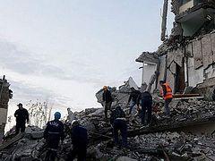 Albanian Church helping earthquake victims