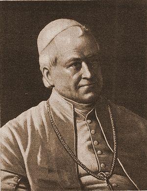 Pope Pius IX. Photo: Wikipedia