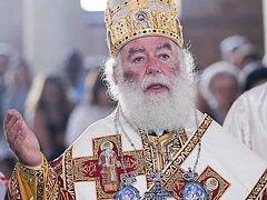 "Patriarch of Alexandria extols schismatic primate's ""sacrificial heart"""