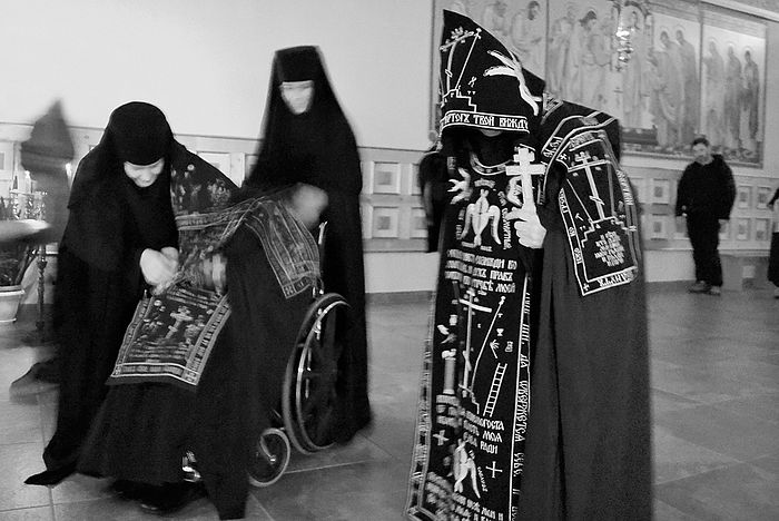 Schemanuns of the Iveron Convent in Orsk