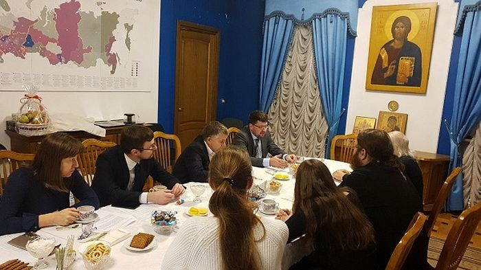Встреча прошла в Синодальном отделе по благотворительности