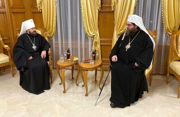 Митрополит Волоколамский Иларион встретился с Предстоятелем Православной Церкви Чешских земель и Словакии