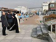 Архиепископ Корейский Феофан совершил заупокойную литию по морякам крейсера «Варяг»