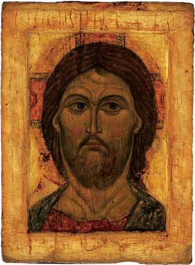 Икона «Спас Оплечный». Вторая половина XI века.