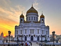 False bomb threat called in at Moscow's Christ the Savior Cathedral