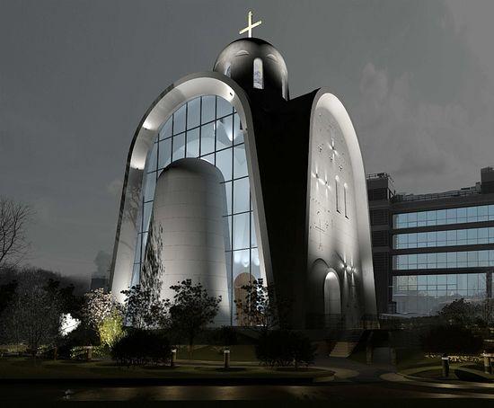 Проект храма в честь Священномученика Игнатия Богоносца на ул. Верейская