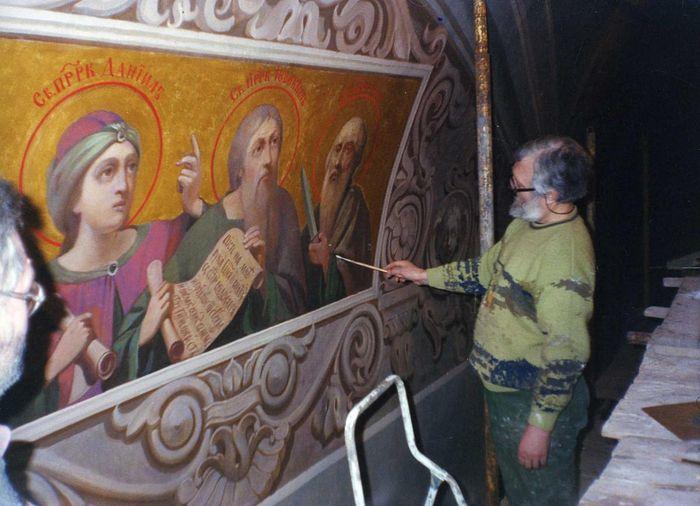 Алексей Валерьевич Артемьев. Роспись храма Большое Вознесение у Никитских ворот
