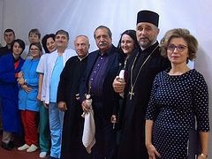 Romanian Archdiocese of Buzău donates to new palliative care ward at local hospital