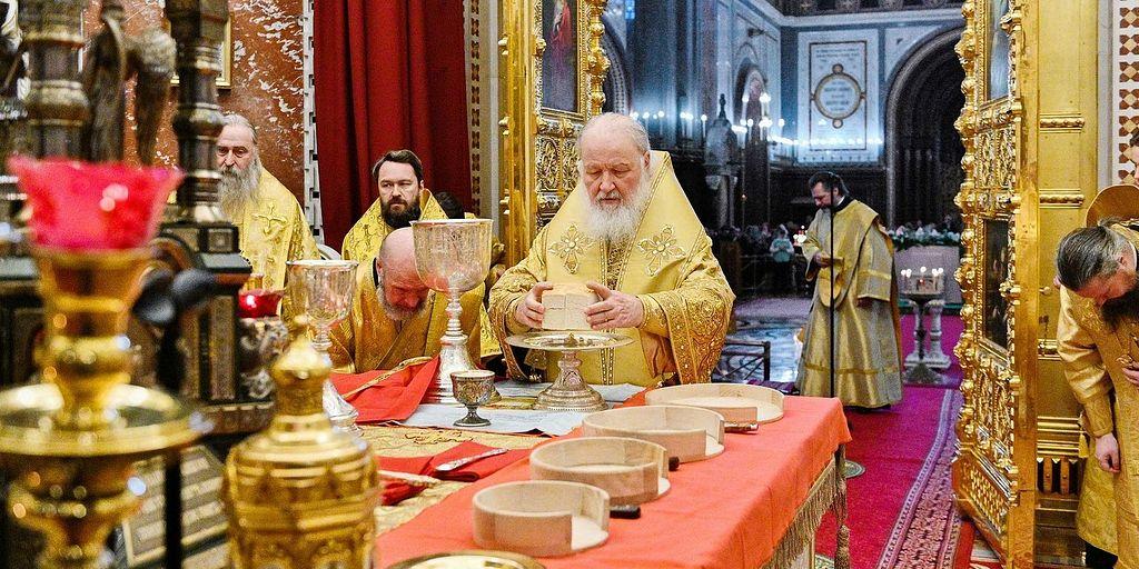 Неделя 25-я по Пятидесятнице. Слово Патриарха / Православие.Ru