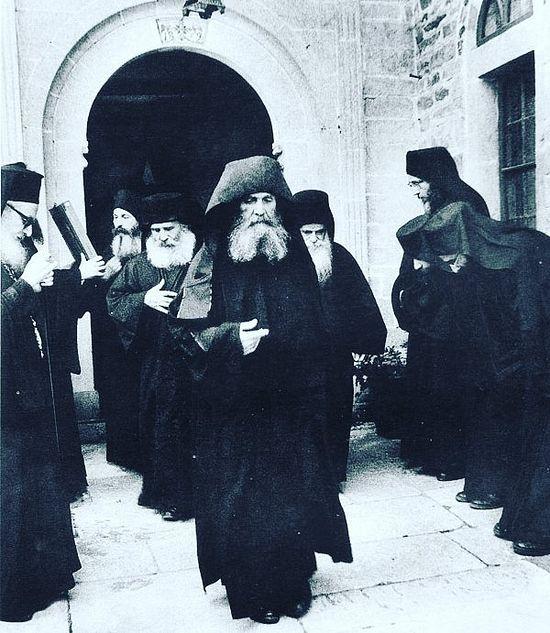 Старец Ефрем на Афоне