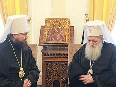 Патриарх Болгарский Неофит передал слова поддержки Блаженнейшему Митрополиту Онуфрию