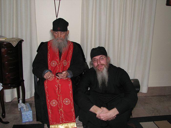 Старец Ефрем Аризонский и архимандрит Симеон
