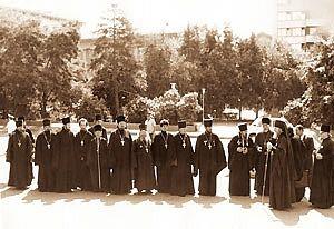 Архиепископ Пимен в Волгограде. Архив архимандрита Василия (Захарича)