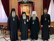 Состоялась встреча Блаженнейшего Патриарха Иерусалимского Феофила c митрополитом Санкт-Петербургским Варсонофием