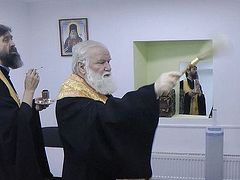 Russian Church and Ministry of Health open free medical center for homeless in Irkutsk