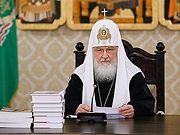 Патриарх Кирилл: Мы все призваны сохранить единство Святого Православия