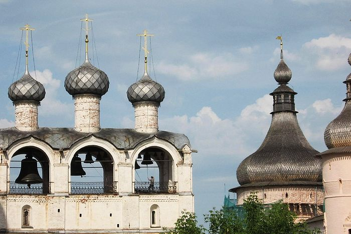 Звонница в Ростове Великом