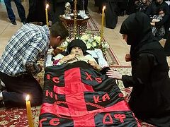 Elder Ephraim laid to rest at St. Anthony's Monastery (+ VIDEO)
