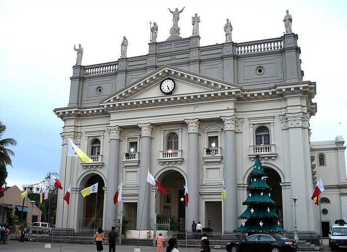 A Catholic church in Colombo: St. Lucia's. Photo: wikiwand.com