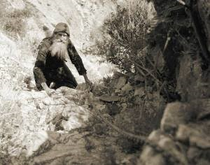 Старец Филарет Карульский. Фото: Pávlos Mylonás, 1959