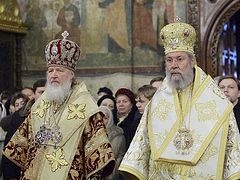 Archbishop of Cyprus condemns Russian Church's reaction to Churches that recognize OCU