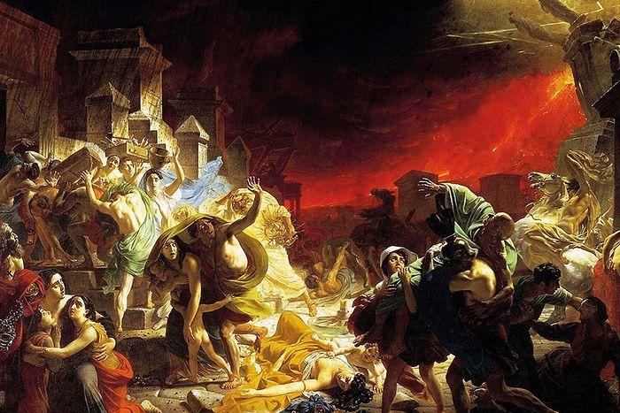К.П. Брюллов. Последний день Помпеи. 1832 г.