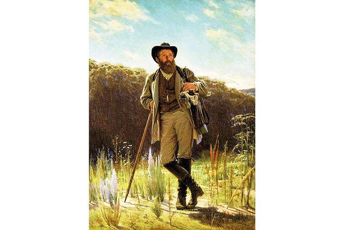 И.Н. Крамской. Портрет И.И. Шишкина. 1873 г.