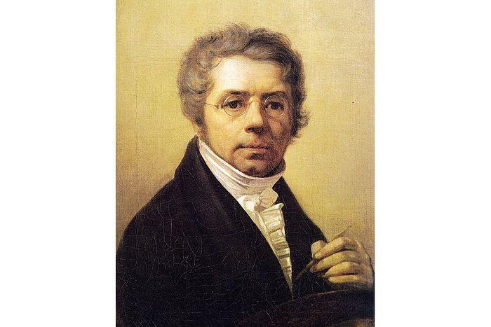 А.Г. Венецианов. Автопортрет. 1811 г.