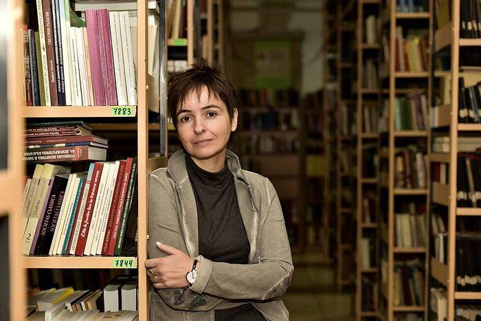 Профессор Софийского университета Дарина Григорова