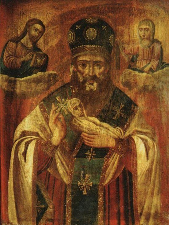 Икона святителя Николая Чудотворца «Николай Мокрый»