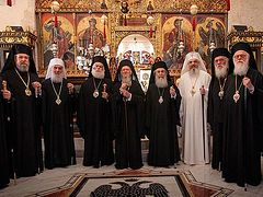 Pan-Orthodox council in Jordan proposed for February