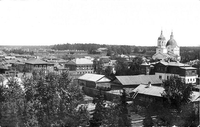 Тобольск начало 20 века, здесь в 1940 году был арестован Анатолий Ефимович Оболтин
