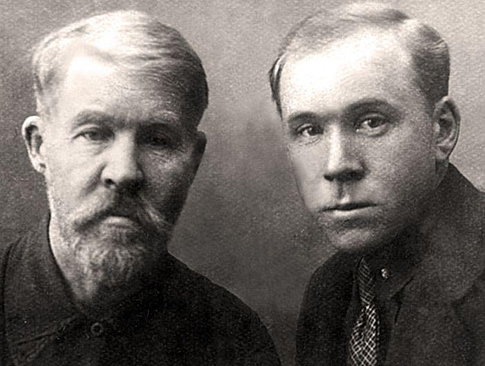 Ефим и Анатолий Оболтины 1932 г.