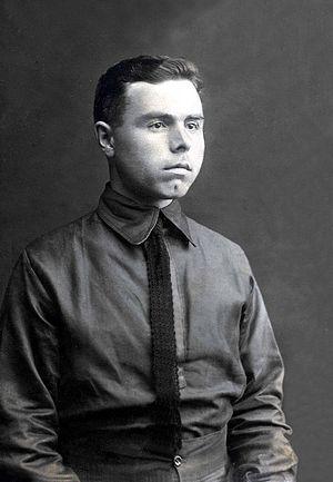 Пётр Иванович Крестов в лагере для военнопленных г. Сольтау, Германия. 01.07.1916 г.