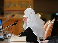 Святейший Патриарх Кирилл: Прошу продолжать прилежно молиться о единстве церковном и об Украинской Православной Церкви