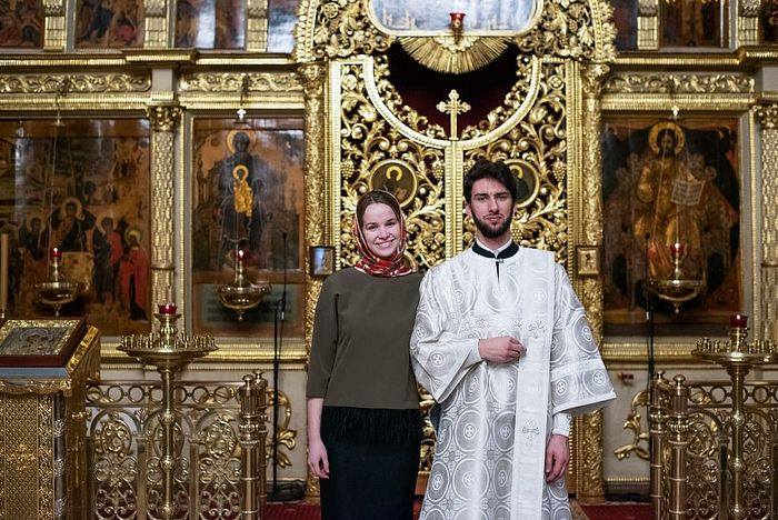 Зять диакон Димитрий и Василиса