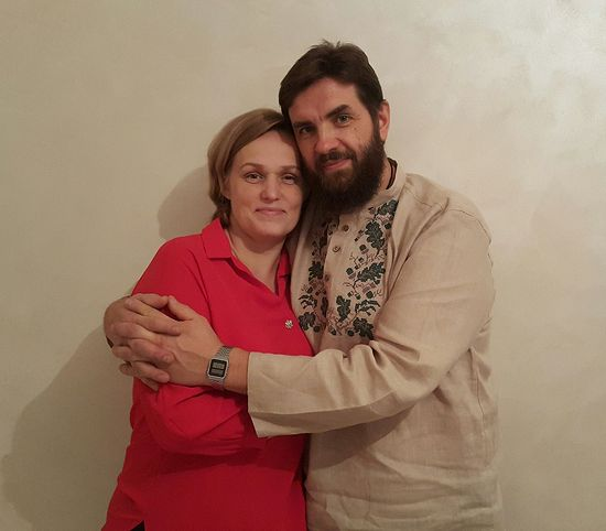 О. Илья с матушкой Ниной