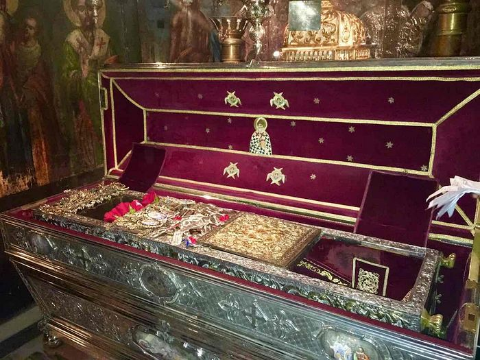 Мощи святителя Спиридона Тримифунтского в Керкире