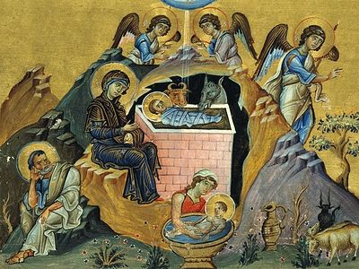 Η Γέννηση του Χριστού: εικονογραφία