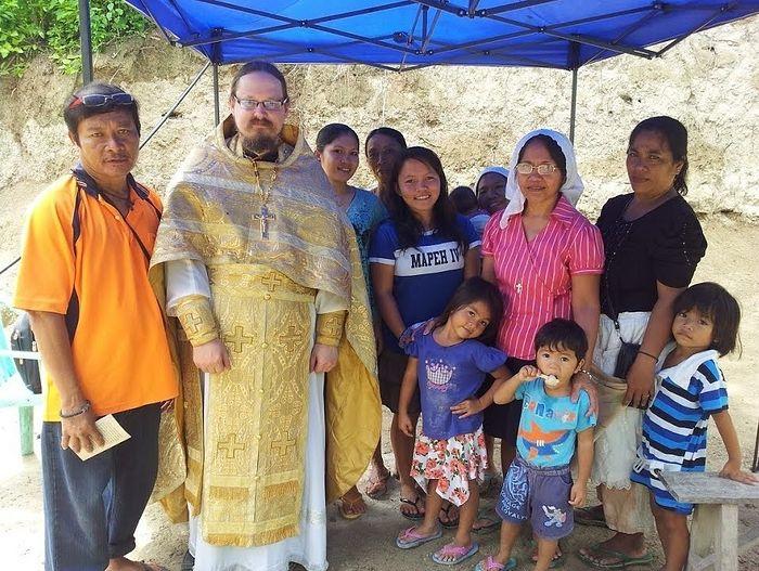 Ο πατήρ Γεώργιος ως ιεραπόστολος στις Φιλιππίνες