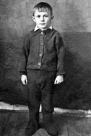 Юрий Соломин в детстве