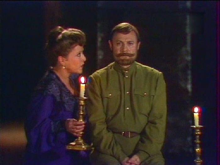 В роли Царя Николая II