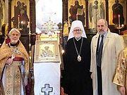 Галлиполийская икона свт.Николая передана в Александро-Невский собор в Париже