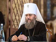 Интервью Управляющего делами УПЦ митрополита Бориспольского и Броварского Антония об итогах 2019 года