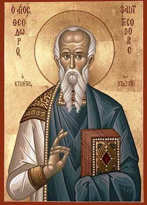 Άγιος Θεόδωρος Στουδίτης. Εικόνα